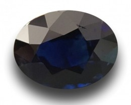 1.07 Carats|Natural Unheated Blue Sapphire|Loose Gemstone|Sri Lanka - New