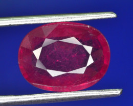 5.50 CT NATURAL AFRICAN RUBY GEMSTONE