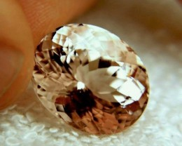 CERTIFIED - 19.89 Carat IF Pink Emerald Morganite - Gorgeous