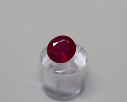 GIA CERTIFIED AMAZING PURE RED UN-TREATED RUBY 1.52 CARATS