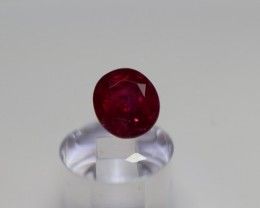 GIA CERTIFIED AMAZING PURE RED UN-TREATED RUBY 1.90 CARATS