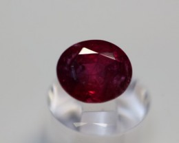 GIA CERTIFIED AMAZING PURE RED UN-TREATED RUBY 2.28 CARATS