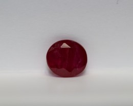 LOVELY UN-TREATED RUBY 0.75 CARATS