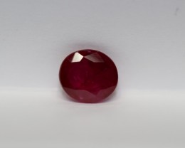 1.23 CARATS LOVELY UN-TREATED RUBY
