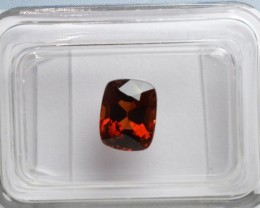 Red Spinel - 1.52 ct - IGI certified Flawless