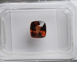 Red Spinel - 0.99 ct - IGI certified Flawless
