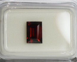 Red Spinel - 1.15 ct - IGI certified Flawless