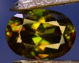 0.55 Crt Natural Amazing Sphene Gemstone From Pakistan