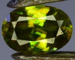 0.60 Crt Natural Amazing Sphene Gemstone From Pakistan