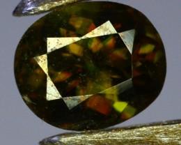 0.95 Crt Natural Amazing Sphene Gemstone From Paksitan
