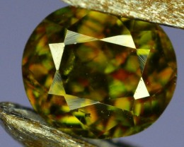 0.75 Crt Natural Amazing Sphene Gemstone From Pakistan