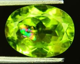 4.05 Ct Untreated Green Peridot