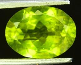 2.55 Ct Untreated Green Peridot