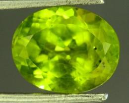 3.25 Ct Untreated Green Peridot