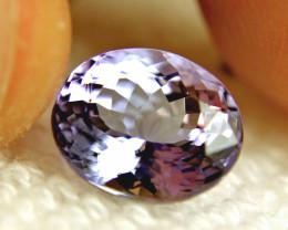 CERTIFIED - 4.58 Carat Lilac / Blue African IF/VVS1 Tanzanite - FREE EXPRES