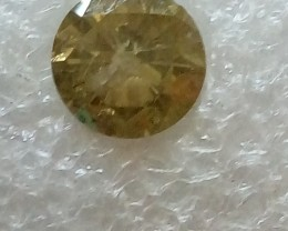NATURAL  SOLITIARE GREYGREEN-1.75CARAT SIZE DIAMOND, 1PC