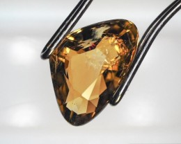1.34 Carat Modified Pear Cut Yellow Tourmaline