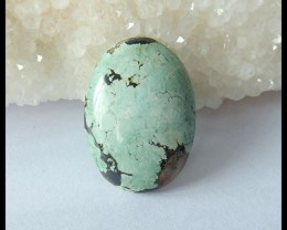 Natural Turquoise Freeform Cabochon,25x18x5mm,17.5ct(17041002)