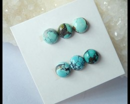 Sell 6PCS AAA Natural Turquoise Cabochons,7x7x3mm,8ct(17041011)