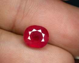 3.46 Cts Natural piegeon Blood Ruby Oval Mixed