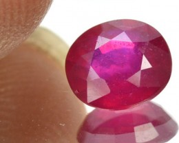 3.33 Cts Natural Piegeon Blood Ruby Oval