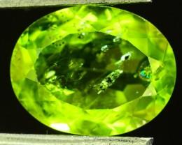 3.90 Ct Untreated Green Peridot