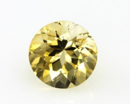 2.24cts Golden Yellow Citrine Round Shape
