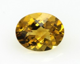 2.34cts Golden Yellow Citrine Oval Shape