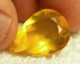 13.04 Carat Vibrant Mexican Fire Opal - Gorgeous