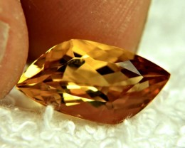 4.48 Carat VVS1 Fancy Cut Golden Beryl - Gorgeous
