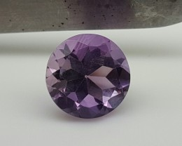 Natural Amethyst Faceted Cut Gemstone