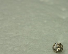 0.08 ct diamond M VVS - From my personal collection.