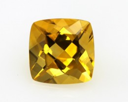 4.27cts Golden Yellow Citrine Cushion Shape