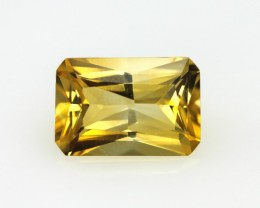 2.58cts Golden Yellow Citrine Radiant Cut