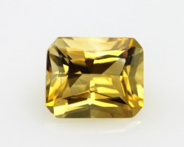 4.01cts Golden Yellow Citrine Radiant Cut