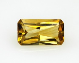 2.29cts Golden Yellow Citrine Radiant Cut