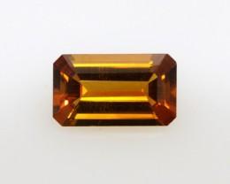 1.61cts Madira Citrine Emerald Cut