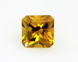 2.70cts Golden Yellow Citrine Radiant Cut