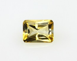 1.35cts Yellow Citrine Radiant Cut
