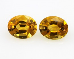 4.46cts Golden Yellow Citrine Oval Shape