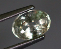 1.05Ct Natural Heated Only African Beige Colour Sapphire