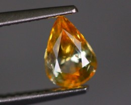 1.08Ct Natural Beryllium Heated African Orangish Yellow Sapphire