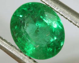 1.16CTS EMERALD FACETED GREEN STONE  PG-2060