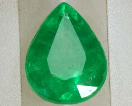 2.20CTS EMERALD FACETED GREEN STONE  PG-2061