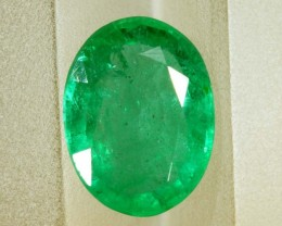 1.51CTSEMERALD FACETED GREEN STONE PG-2062