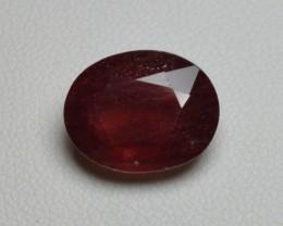 Natural Ruby - 6,76 carats - Gemstone