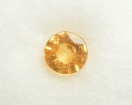 Spessartite (Garnet) - 0.85 ct - HKD certified