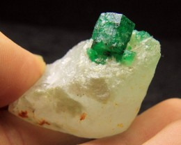 Swat Emerald Specimen From Pakistan Collector's Gem