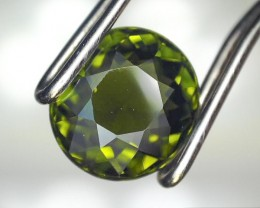 0.69 Carat Oval Cut Green Tourmaline