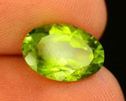 2.85 Ct Untreated Green Peridot